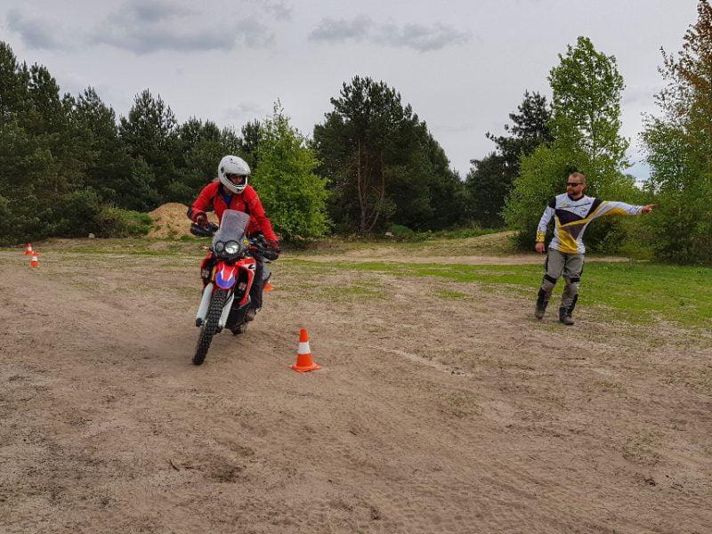 trening enduro na mazowszu w okolicy Warszawy