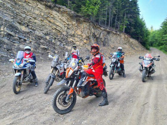 wycieczka motocyklowa w Bieszczadyy
