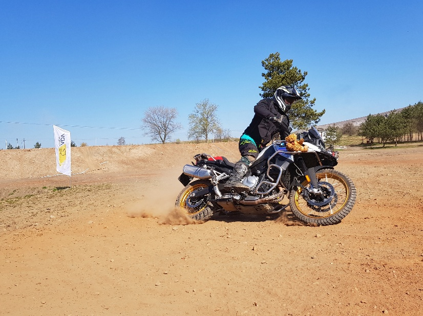 power slide na bmw f850gs