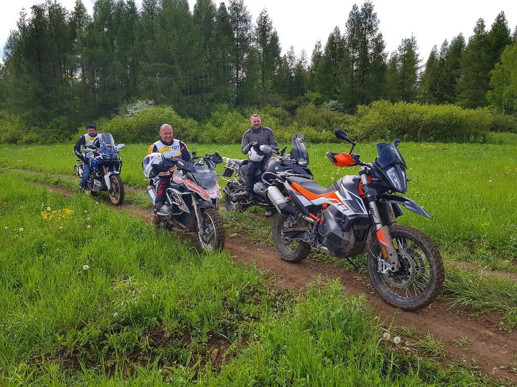 przerwa motocyklistów