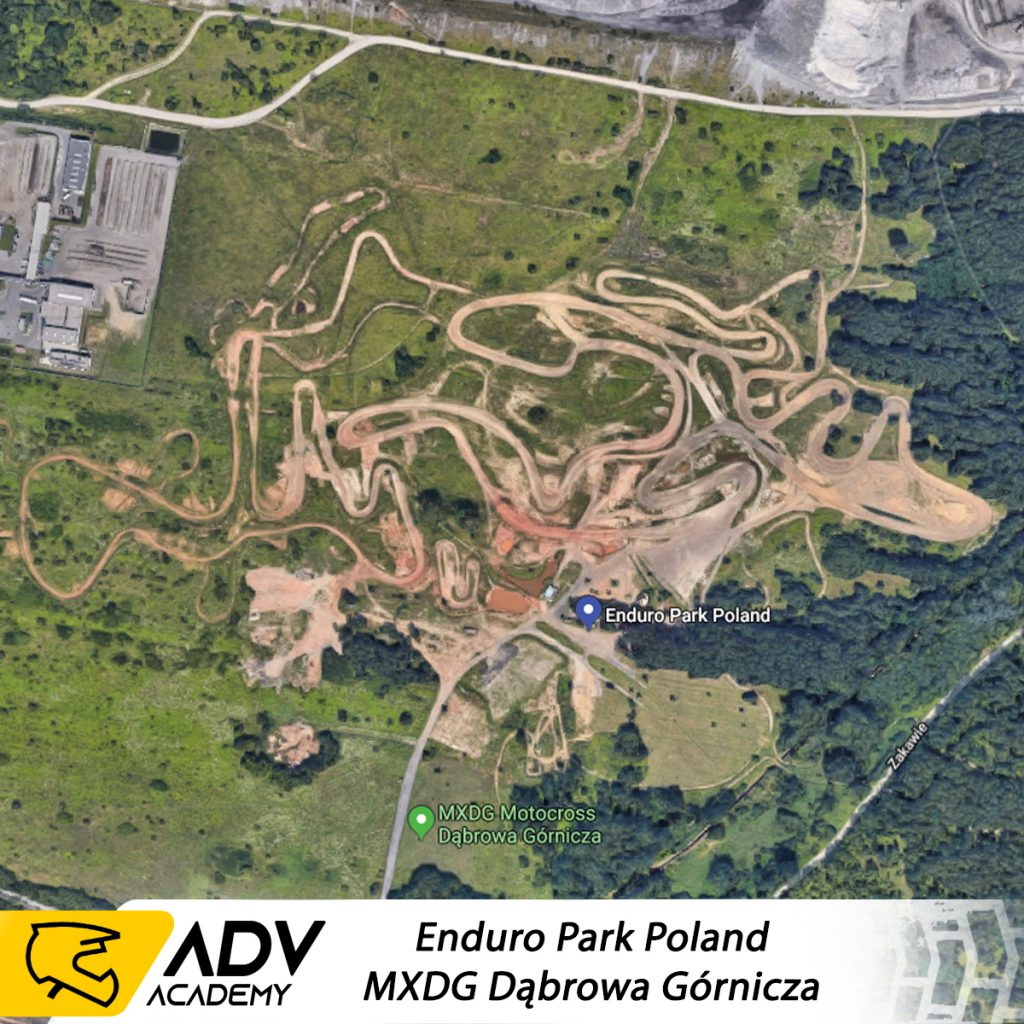mapa enduro parku