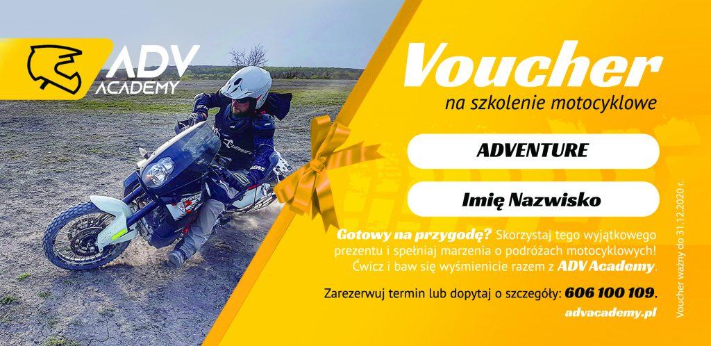 voucher prezentowy dla motocyklisty