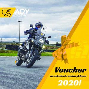 Voucher na szkolenie motocyklowe