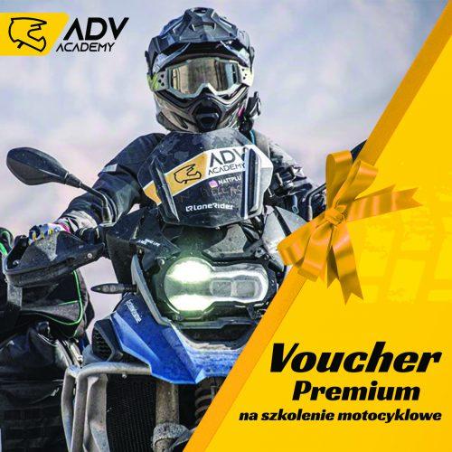 voucher premium na szkolenie motocyklowe