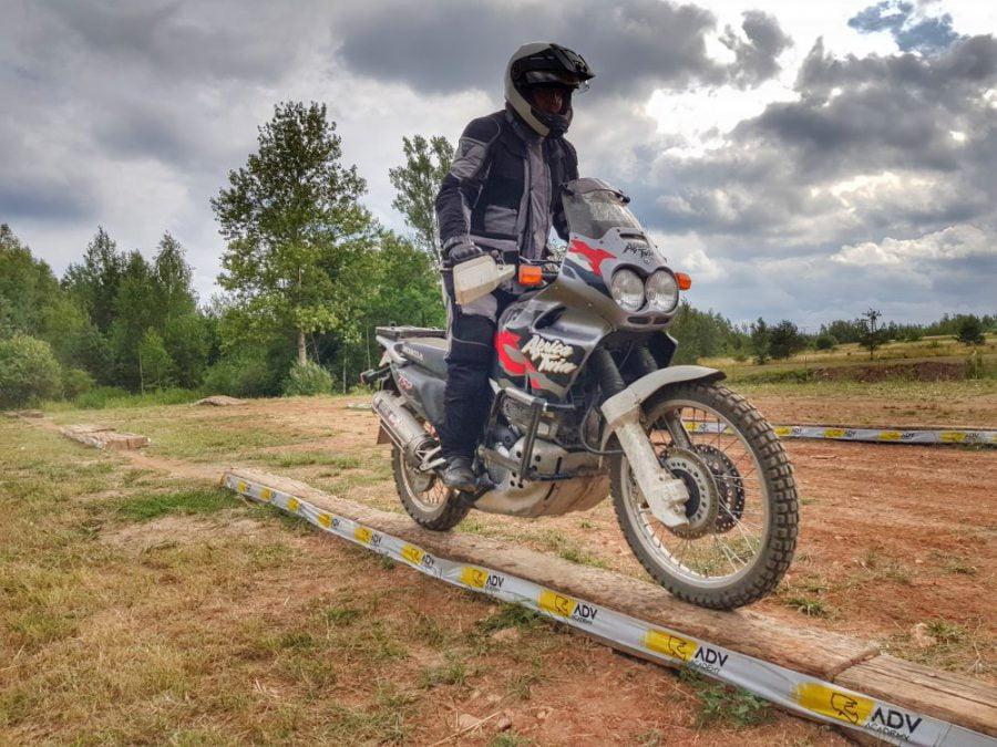 balans na motocyklu
