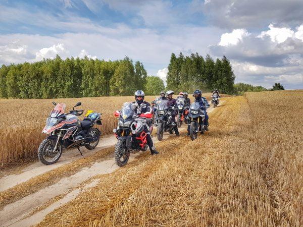 treningi i wycieczki motocyklowe