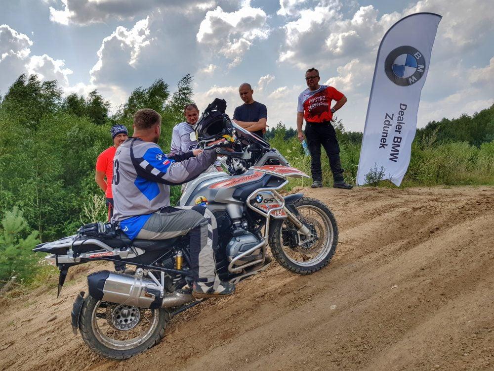 szkolenie enduro na motocyklu BMW