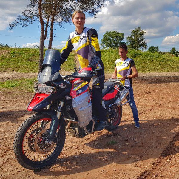 zajęcia z techniki jazdy motocyklem