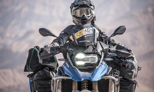 Motocykl podczas szkolenia ADV Academy