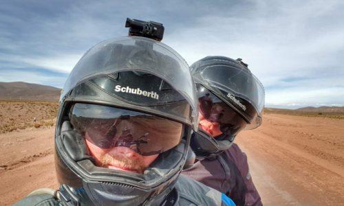 uczestnicy szkolenia z doskonalenia jazdy motocyklem