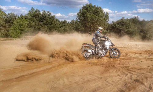 relacja z treningu motocyklowego
